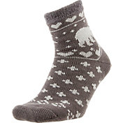 Field and Stream Women's Polar Bear Cozy Cabin Crew Socks