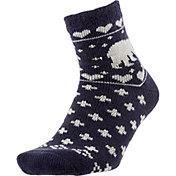 Field and Stream Women's Polar Bear Cozy Cabin Crew Socks