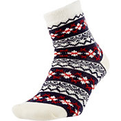 Field and Stream Women's Argyle Cozy Cabin Crew Socks
