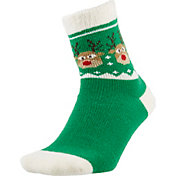 Field and Stream Women's Reindeer Cozy Cabin Crew Socks
