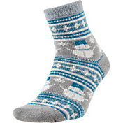 Field and Stream Women's Nordic Snowman Cozy Cabin Crew Socks