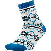 Field and Stream Women's Snowflake Nordic Cozy Cabin Crew Socks