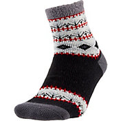 Field and Stream Women's Trees Cozy Cabin Crew Socks