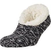 Field & Stream Women's Cozy Cabin Cable Knit Slipper Socks