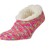 Field & Stream Women's Cozy Cabin Cable Knit Slipper Socks