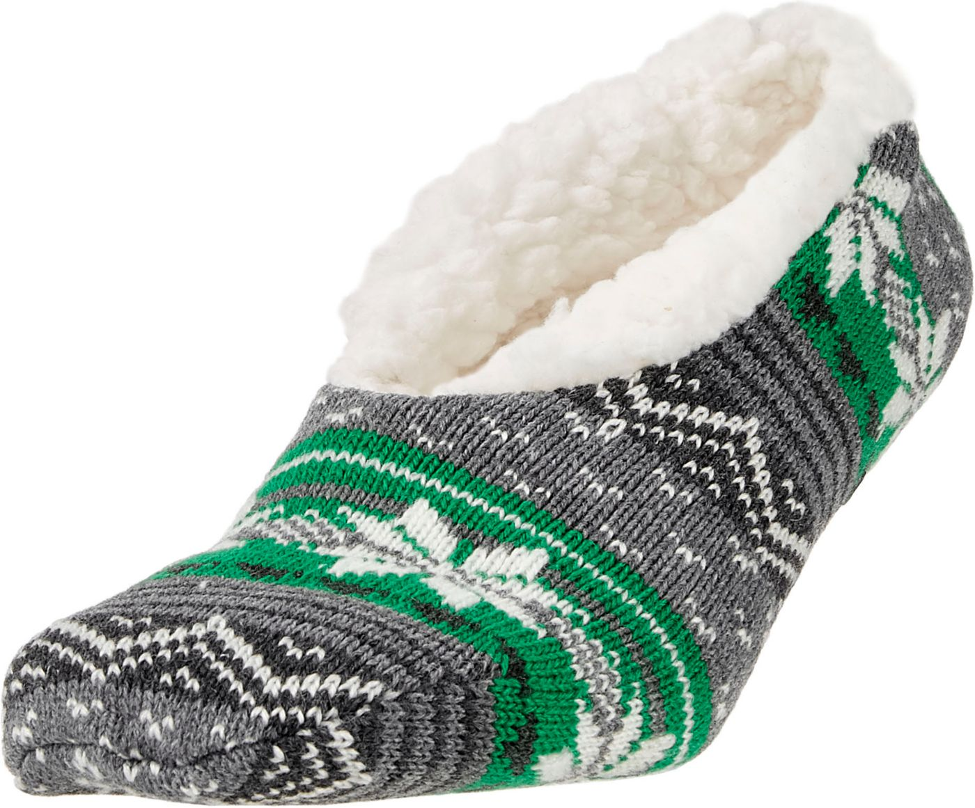 Field & Stream Women's Cozy Cabin Nordic Stripe Slipper Socks