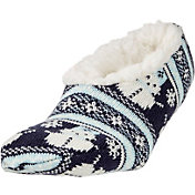 Field & Stream Women's Cozy Cabin Snowman Slipper Socks