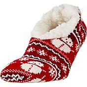 Field & Stream Women's Cozy Cabin Snowman Slipper Socks