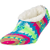 Field & Stream Women's Cozy Cabin Aztec Slipper Socks