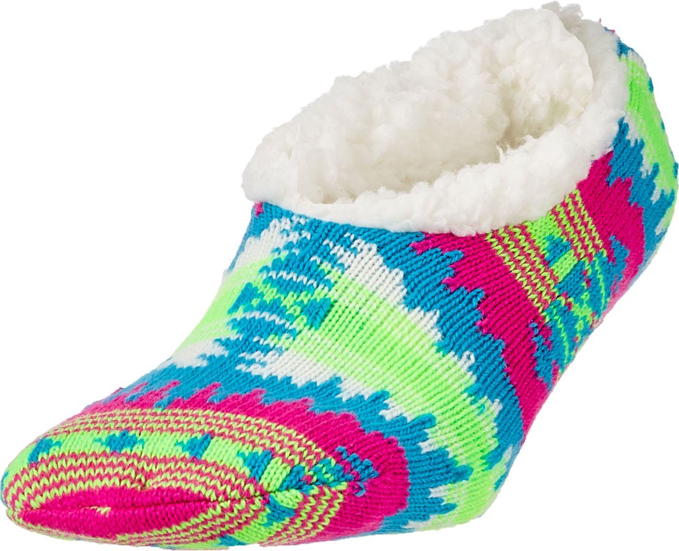 Field & Stream Women's Cozy Cabin Aztec Slipper Socks