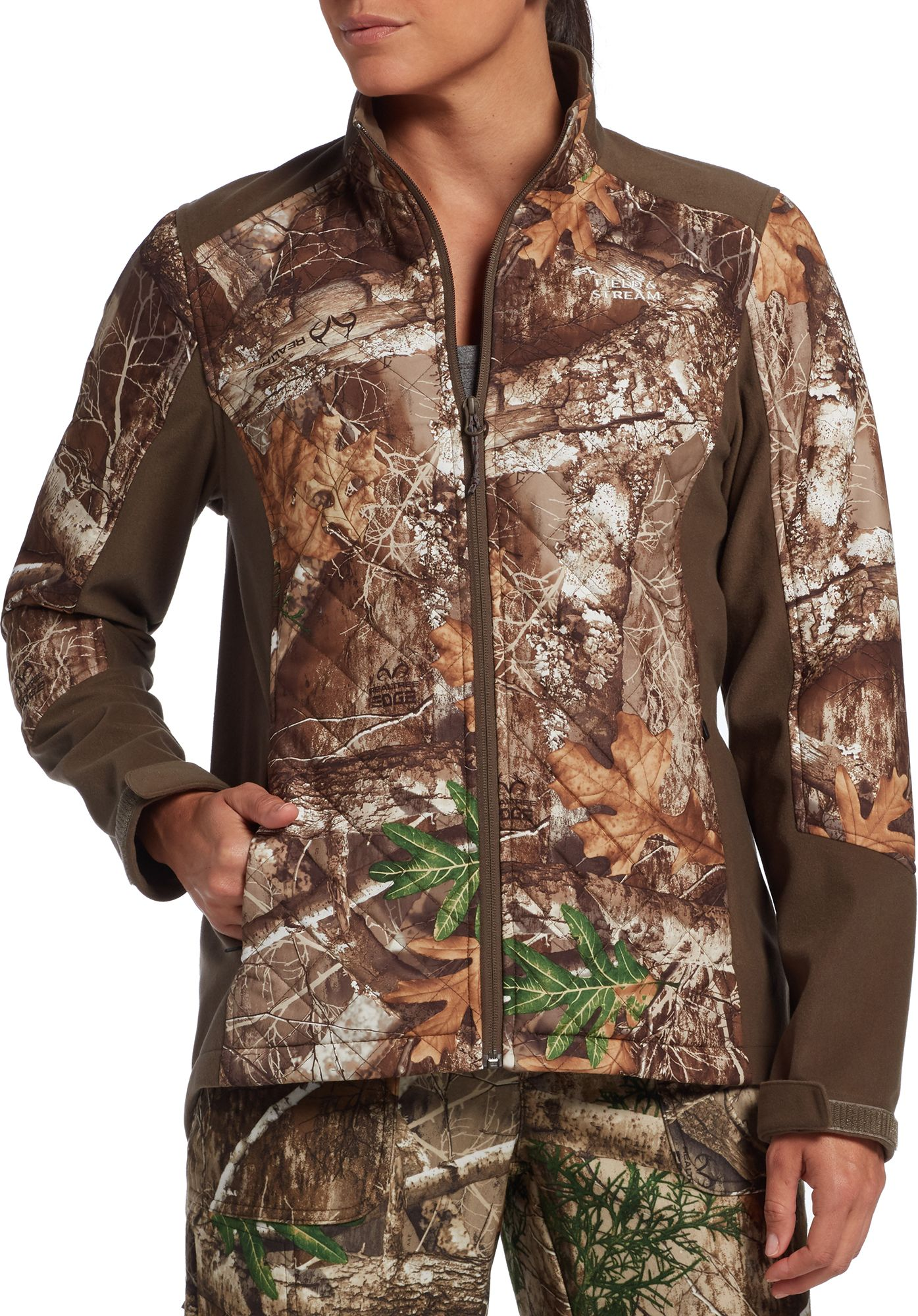 Field & Stream Women's Every Hunt Insulated Softshell Jacket, Size: Small, Multi thumbnail