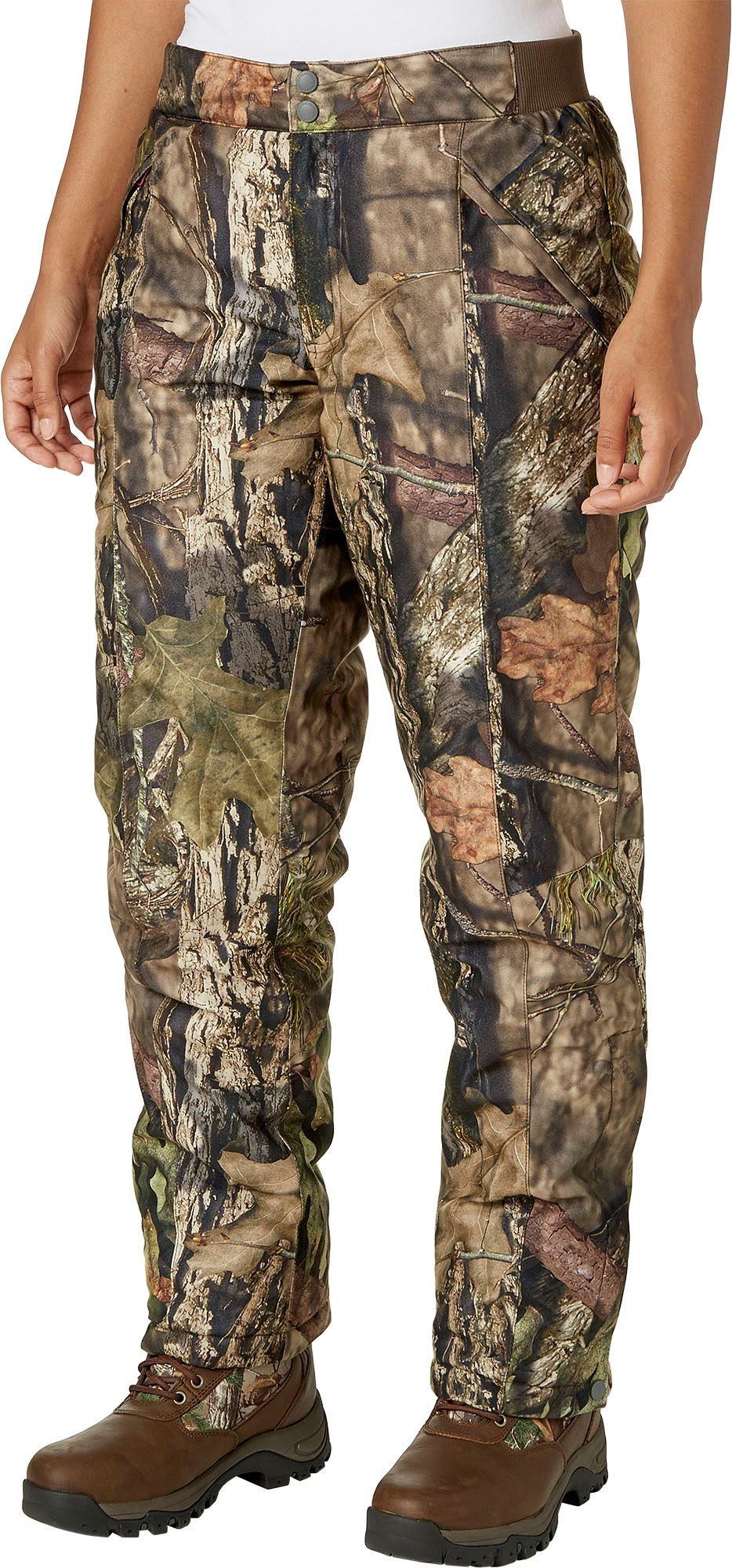 Field & Stream Women's True Pursuit Insulated Hunting Pants, Large, Mossy Oak Country