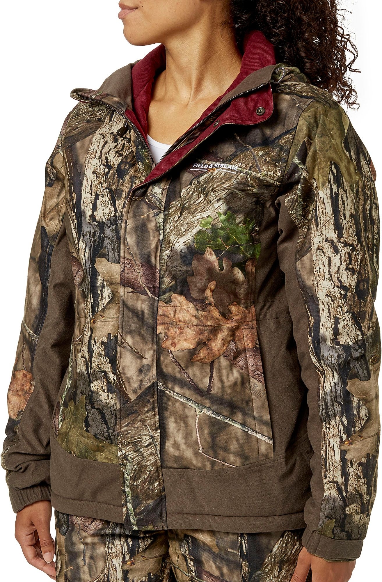 Field & Stream Women's True Pursuit Insulated Hunting Jacket, Size: Small, Mossy Oak Country thumbnail