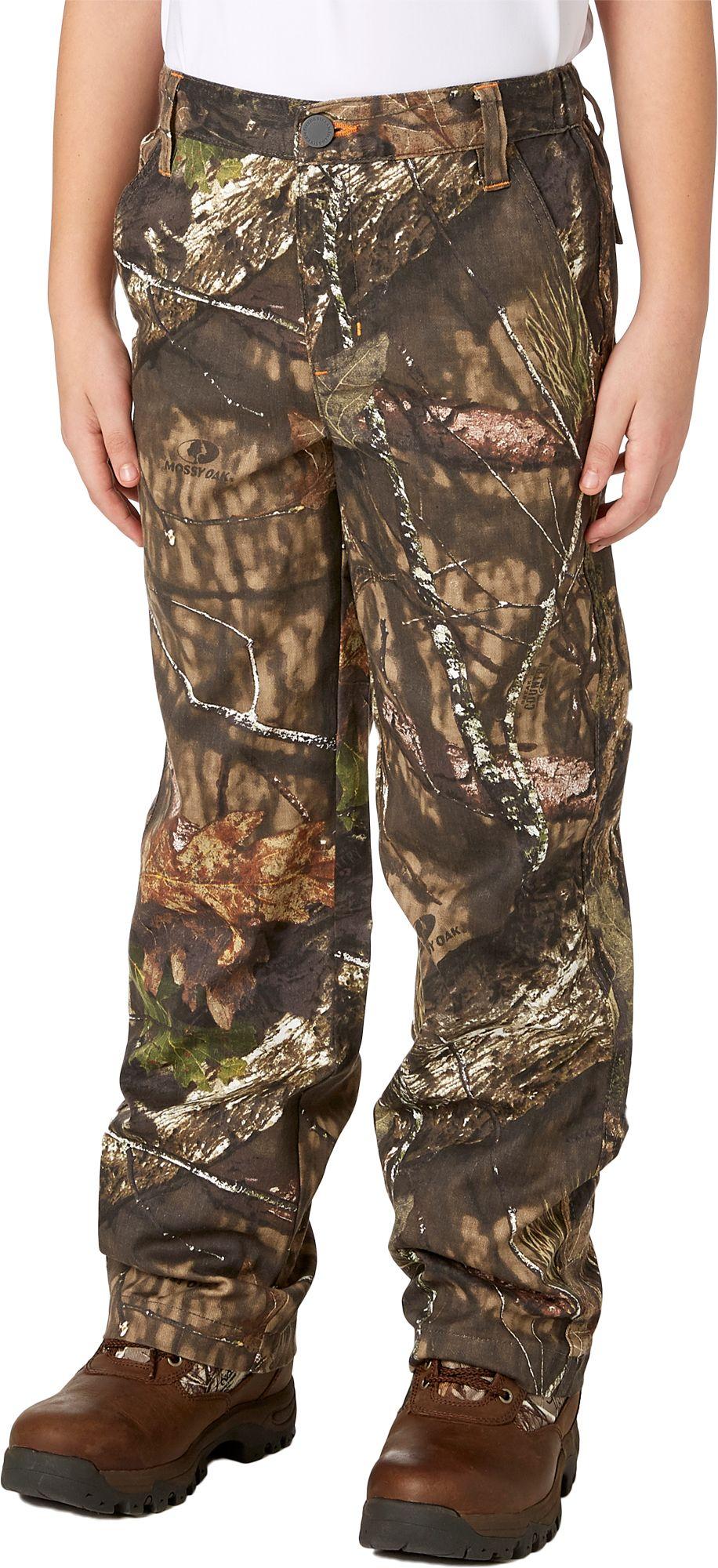Field & Stream Youth Cotton Twill Pants, Kids, XL, Green