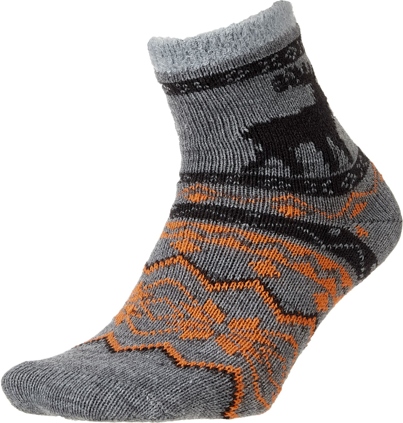 Field and Stream Youth Nordic Moose Cozy Cabin Crew Socks
