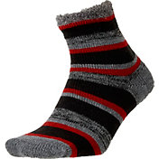 Field and Stream Youth Striped Cozy Cabin Crew Socks