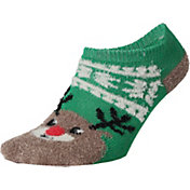 Field and Stream Youth Reindeer Cozy Cabin Low Cut Socks