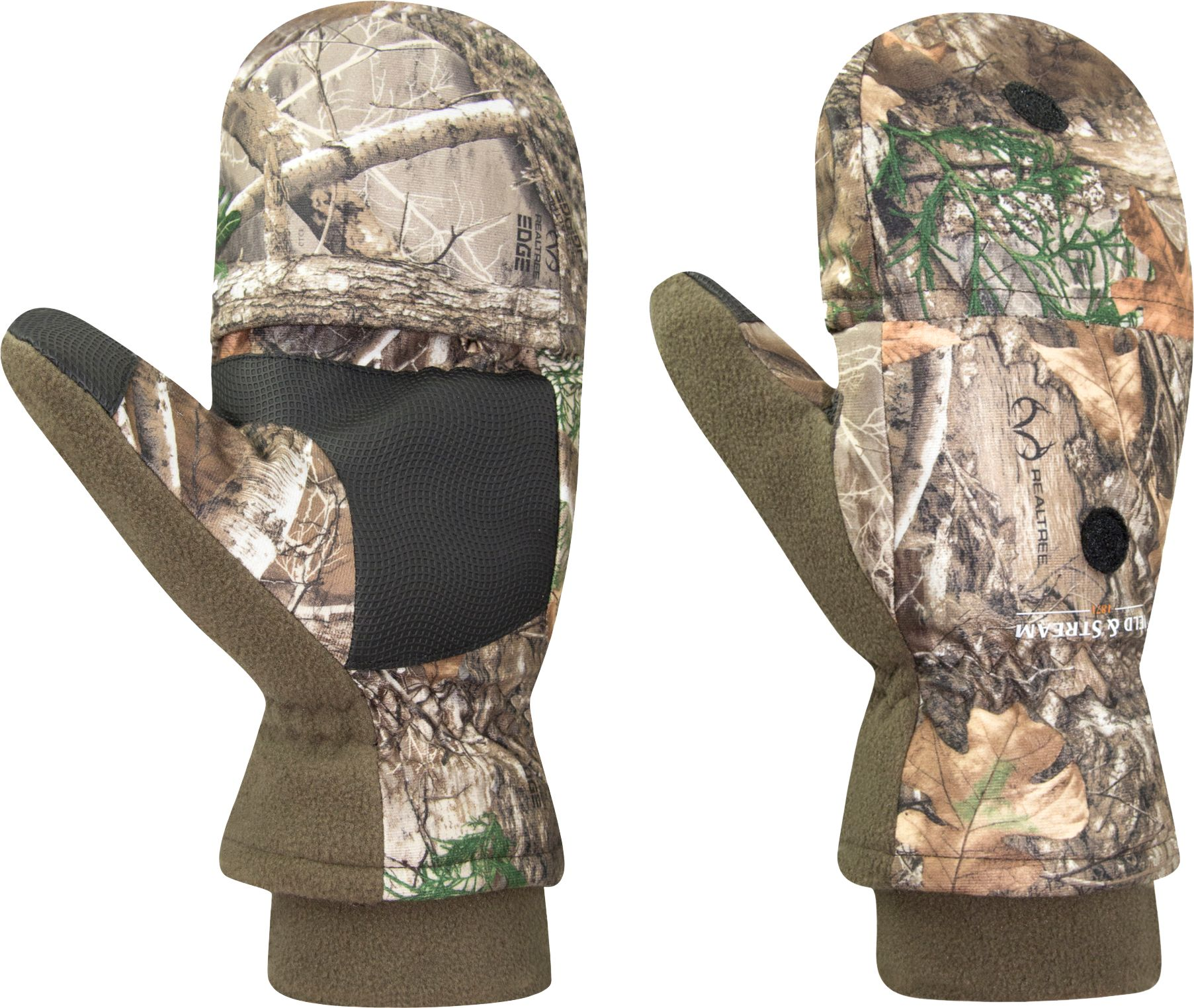 Field & Stream Youth Command Hunt Pop Top Gloves, Kids Unisex, Size: Small, Multi thumbnail