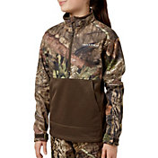 Field & Stream Youth Fleece Half Zip Jacket