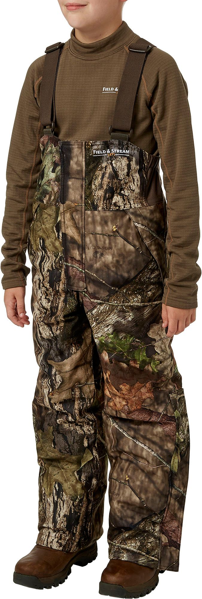 Field & Stream Youth True Pursuit Insulated Hunting Bibs, Kids Unisex, Size: XL, Mossy Oak Country thumbnail