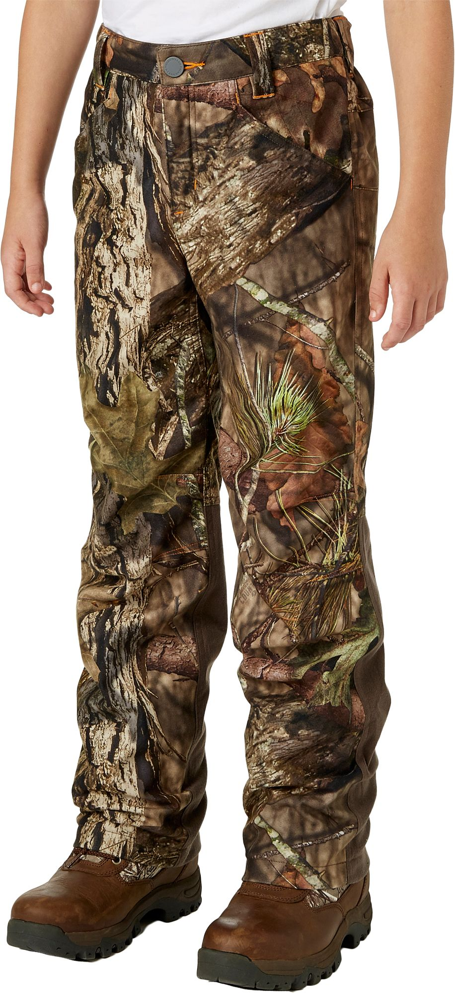 Field & Stream Youth Every Hunt Hunting Pants, Kids Unisex, Size: Medium, Mossy Oak Country thumbnail