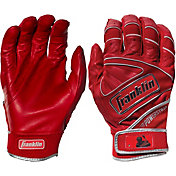 Franklin Adult Powerstrap Chrome Batting Gloves