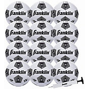 Franklin Competition 100 Soccer Ball with Pump Set - 12 Pack