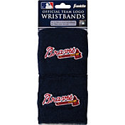 Franklin Atlanta Braves Embroidered Wristbands