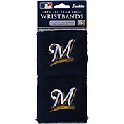 Franklin Milwaukee Brewers Embroidered Wristbands