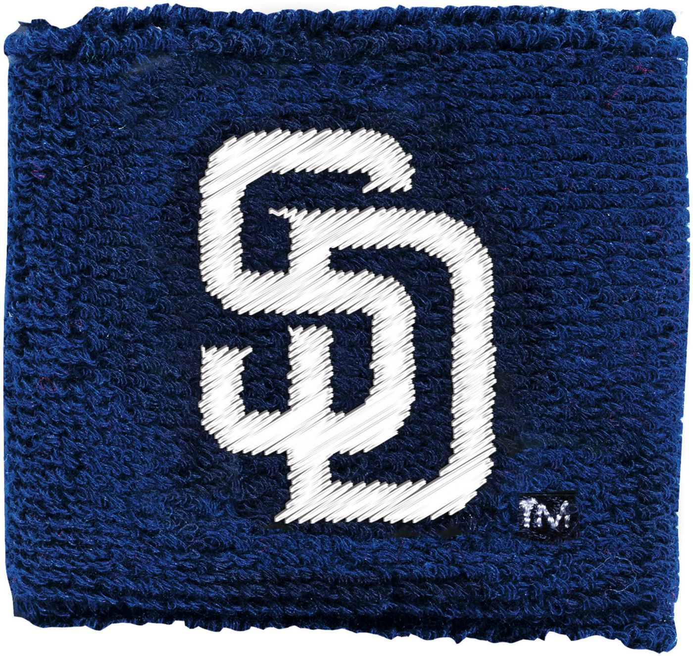 Franklin San Diego Padres Embroidered Wristbands