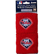 Franklin Philadelphia Phillies Embroidered Wristbands
