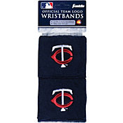 Franklin Minnesota Twins Embroidered Wristbands