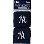 Franklin New York Yankees Embroidered Wristbands