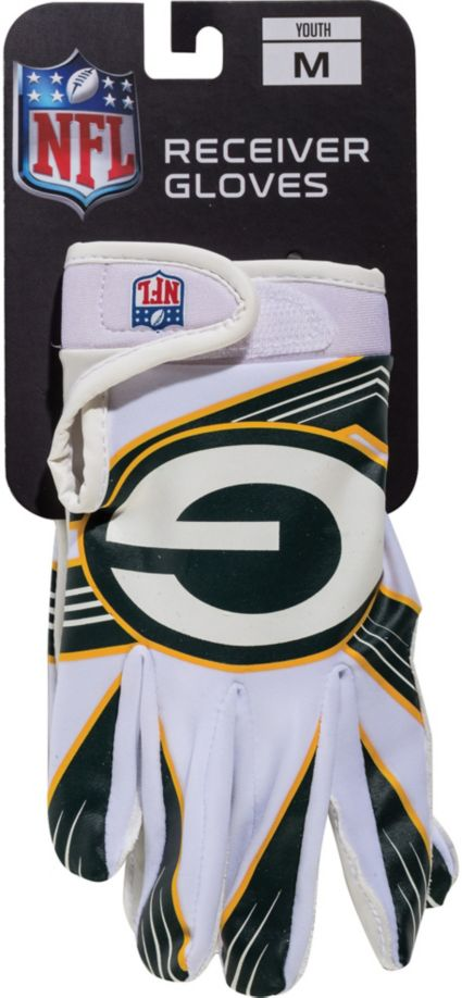 2c3ca23ac40 Franklin Green Bay Packers Receiver Gloves