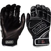 Franklin Youth Powerstrap Chrome Batting Gloves