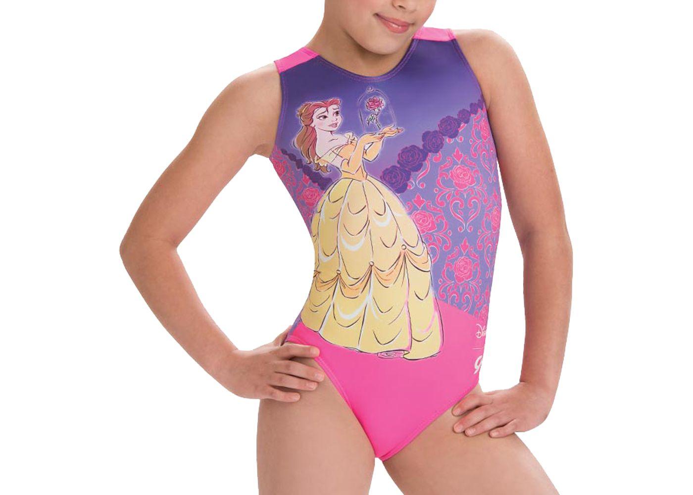 GK Elite Disney Beauty and The Beast Gymnastics Leotard