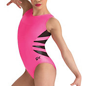 GK Elite Pop V-Neck Tank Gymnastics Leotard