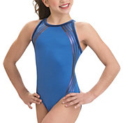GK Elite Swirl Racerback Gymnastics Training Leotard