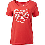 Locally Grown Women's Ohio State Script T-Shirt