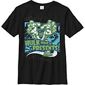Fifth Sun Boys' Marvel Hulk Presents Graphic Tee