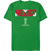 Fifth Sun Men's 2018 FIFA World Cup Mexico Chevron Green T-Shirt