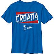 Fifth Sun Youth 2018 FIFA World Cup Croatia Slanted Blue T-Shirt