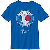 Fifth Sun Youth 2018 FIFA World Cup Japan Contrast Round Royal T-Shirt