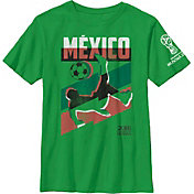 Fifth Sun Youth 2018 FIFA World Cup Mexico Jagged Green T-Shirt