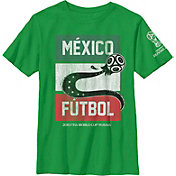 Fifth Sun Youth 2018 FIFA World Cup Mexico Futbol Green T-Shirt