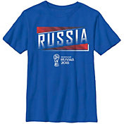 Fifth Sun Youth 2018 FIFA World Cup Russia Slanted Royal T-Shirt