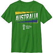 Fifth Sun Youth 2018 FIFA World Cup Austrailia Slanted Green T-Shirt
