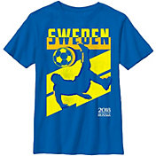 Fifth Sun Youth 2018 FIFA World Cup Sweden Jagged Royal T-Shirt