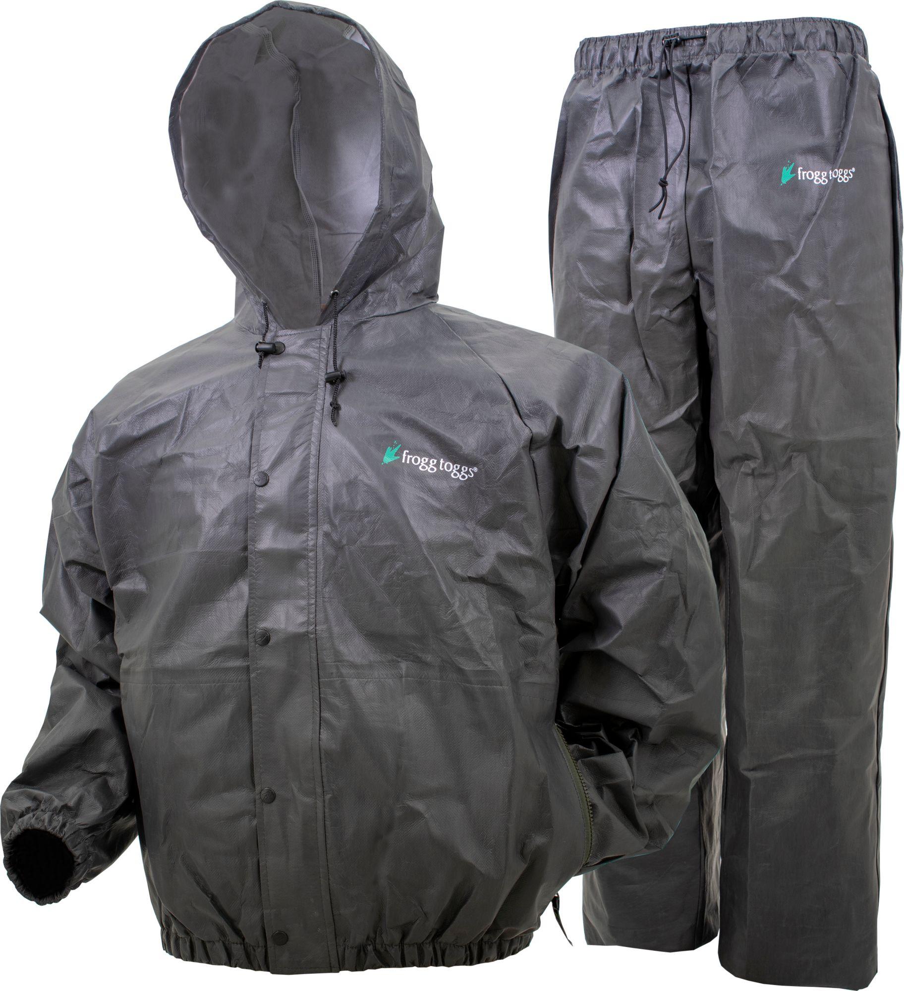 Frogg Toggs Men's Pro Action II Rain Suit, Size: Medium, Grey thumbnail