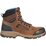 Georgia Boot Men's Blue Collar Hiker Waterproof Work Boots